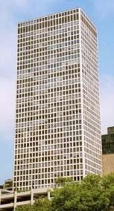 Chestnut-Dewitt Apartments designed by Fazlur Khan, the first tubular high-rise construction