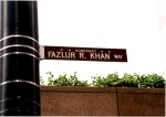 Fazlur R. Khan Way at the Willis Tower in Chicago