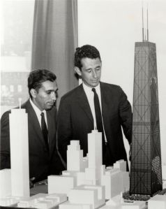 Fazlur Khan and Bruce Graham at SOM